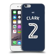 Official Newcastle United Fc Nufc 2016/17 Players Away Kit 2 Clark Soft Gel Case For Apple Iphone 6 / 6S