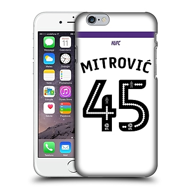 Official Newcastle United Fc Nufc 2016/17 Players Third Kit 1 Mitrovic Hard Back Case For Apple Iphone 6 / 6S
