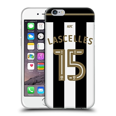 Official Newcastle United Fc Nufc 2016/17 Players Away Kit 1 Lascelles Soft Gel Case For Apple Iphone 6 / 6S
