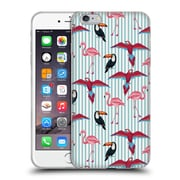 Official Mark Ashkenazi Flamingo Tropic Mood Soft Gel Case For Apple Iphone 6 Plus / 6S Plus
