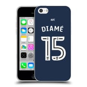 Official Newcastle United Fc Nufc 2016/17 Players Away Kit 2 Diame Soft Gel Case For Apple Iphone 5C