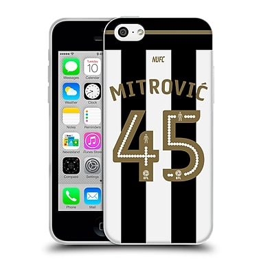 Official Newcastle United Fc Nufc 2016/17 Players Away Kit 1 Mitrovic Soft Gel Case For Apple Iphone 5C