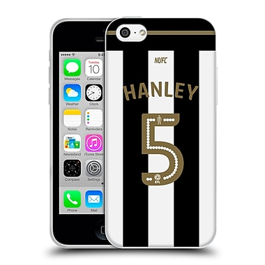 Official Newcastle United Fc Nufc 2016/17 Players Away Kit 1 Hanley Soft Gel Case For Apple Iphone 5C