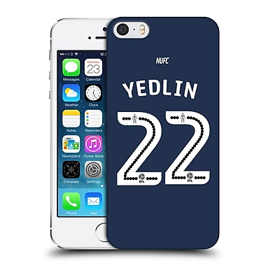 Official Newcastle United Fc Nufc 2016/17 Players Away Kit 2 Yedlin Hard Back Case For Apple Iphone 5 / 5S / Se