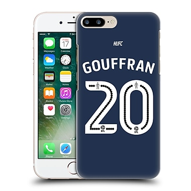Official Newcastle United Fc Nufc 2016/17 Players Away Kit 1 Gouffran Hard Back Case For Apple Iphone 7 Plus