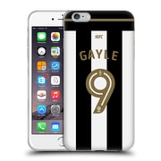 Official Newcastle United Fc Nufc 2016/17 Players Home Kit 1 Gayle Soft Gel Case For Apple Iphone 6 Plus / 6S Plus