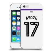 Official Newcastle United Fc Nufc 2016/17 Players Third Kit 1 Ayoze Soft Gel Case For Apple Iphone 5 / 5S / Se