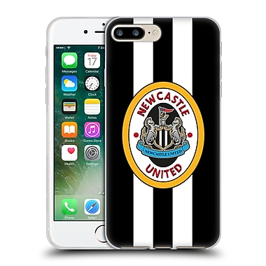 Official Newcastle United Fc Nufc Retro Badge Collection 1996 Home Shirt Front Soft Gel Case For Apple Iphone 7 Plus