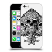 Official Bioworkz Skulls Spade Soft Gel Case For Apple Iphone 5C