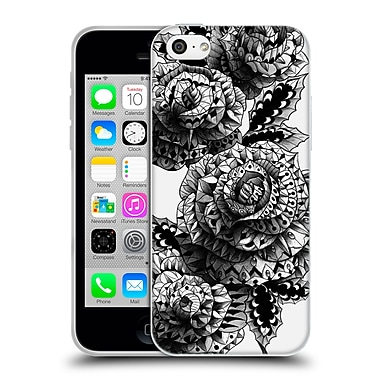 Official Bioworkz Ornate Four Roses Soft Gel Case For Apple Iphone 5C