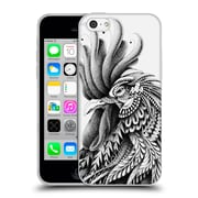 Official Bioworkz Ornate Rooster Soft Gel Case For Apple Iphone 5C