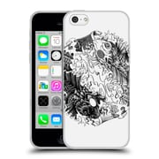 Official Bioworkz Ornate 3 Yin Yang Koi Soft Gel Case For Apple Iphone 5C