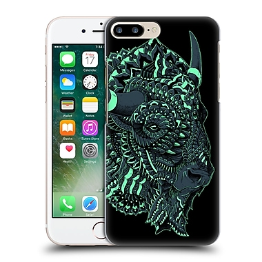 Official Bioworkz Coloured Wildlife 1 Bison Hard Back Case For Apple Iphone 7 Plus