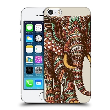 Official Bioworkz Coloured Wildlife 1 Ornate Elephant 2 Hard Back Case For Apple Iphone 5 / 5S / Se