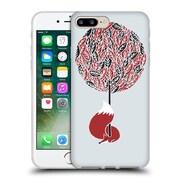 Official Robert Farkas Fox Cherry Tree Soft Gel Case For Apple Iphone 7 Plus