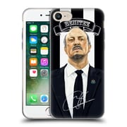 Official Newcastle United Fc Nufc Rafa Benitez Signed Soft Gel Case For Apple Iphone 7