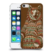 Official Bioworkz Coloured Wildlife 1 Grizzly Bear Hard Back Case For Apple Iphone 5 / 5S / Se