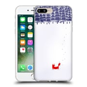 Official Robert Farkas Fox Alone In The Forest Soft Gel Case For Apple Iphone 7 Plus