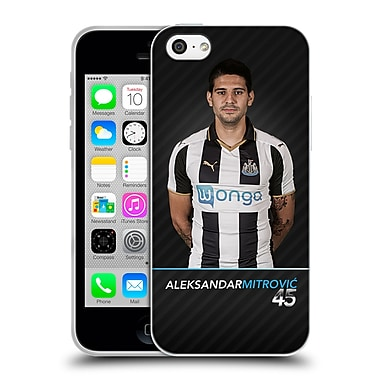 Official Newcastle United Fc Nufc 2016/17 First Team 2 Mitrovic Soft Gel Case For Apple Iphone 5C