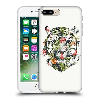 Official Robert Farkas Animals 3 Tropical Tiger Soft Gel Case For Apple Iphone 7 Plus