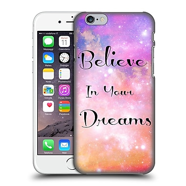 Official Haroulita Glitter Sparkle Believe Hard Back Case For Apple Iphone 6 / 6S