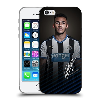 Official Newcastle United Fc Nufc 2015/16 First Team Jamaal Lascelles Soft Gel Case For Apple Iphone 5 / 5S / Se