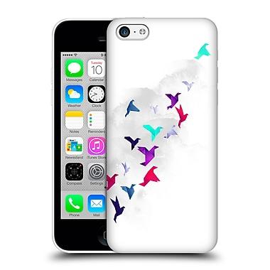 Official Robert Farkas Animals 3 Paper Birds Hard Back Case For Apple Iphone 5C