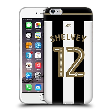 Official Newcastle United Fc Nufc 2016/17 Players Away Kit 1 Shelvey Soft Gel Case For Apple Iphone 6 Plus / 6S Plus