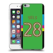 Official Newcastle United Fc Nufc 2016/17 Players Away Kit 1 Sels Soft Gel Case For Apple Iphone 6 Plus / 6S Plus