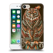 Official Bioworkz Coloured Aves 1 Great Horned Owl 2 Hard Back Case For Apple Iphone 7