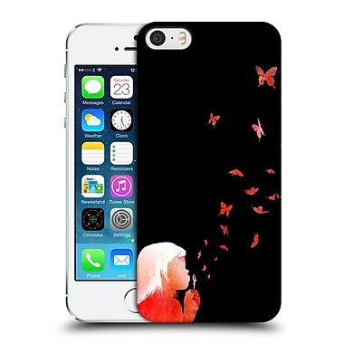 Official Robert Farkas People Blowing Butterflies Hard Back Case For Apple Iphone 5 / 5S / Se