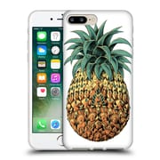 Official Bioworkz Coloured Ornate 1 Pineapple 1 Soft Gel Case For Apple Iphone 7 Plus