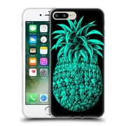 Official Bioworkz Coloured Ornate 1 Pineapple 2 Soft Gel Case For Apple Iphone 7 Plus