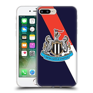 Official Newcastle United Fc Nufc 2015/16 Crest Kit Third Full Colour Soft Gel Case For Apple Iphone 7 Plus