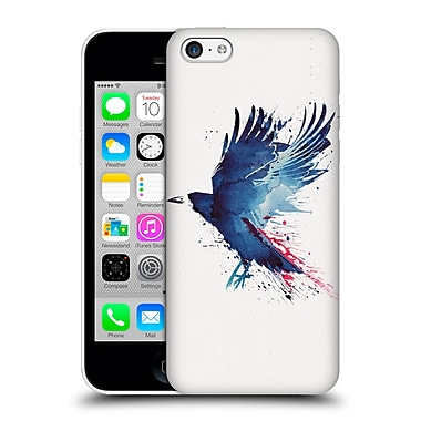 Official Robert Farkas Animals Bloody Crow Hard Back Case For Apple Iphone 5C