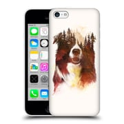 Official Robert Farkas Animals One Night In The Forest Hard Back Case For Apple Iphone 5C