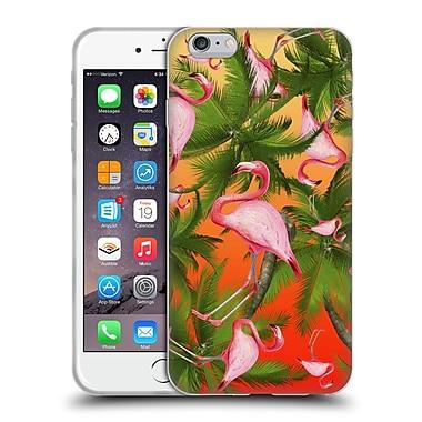 Official Mark Ashkenazi Flamingo Pattern Soft Gel Case For Apple Iphone 6 Plus / 6S Plus