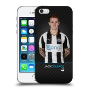 Official Newcastle United Fc Nufc 2016/17 First Team 2 Colback Soft Gel Case For Apple Iphone 5 / 5S / Se
