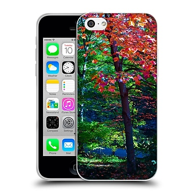 Official Haroulita Fantasy 4 Fall Tree Soft Gel Case For Apple Iphone 5C