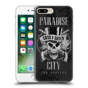 Official Guns N' Roses Vintage Paradise City Soft Gel Case For Apple Iphone 7 Plus