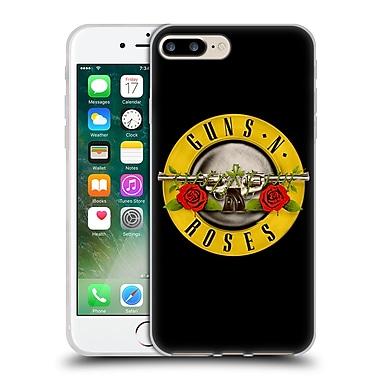 Official Guns N' Roses Key Art Bullet Logo Soft Gel Case For Apple Iphone 7 Plus
