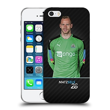 Official Newcastle United Fc Nufc 2016/17 First Team 1 Sels Soft Gel Case For Apple Iphone 5 / 5S / Se