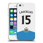 Official Newcastle United Fc Nufc 2015/16 Players Home Kit Jamaal Lascelles Soft Gel Case For Apple Iphone 5 / 5S / Se