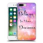Official Haroulita Glitter Sparkle Believe Hard Back Case For Apple Iphone 7 Plus