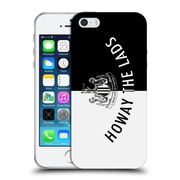 Official Newcastle United Fc Nufc Howay The Lads Tunnel Sign Landscape Soft Gel Case For Apple Iphone 5 / 5S / Se