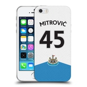 Official Newcastle United Fc Nufc 2015/16 Players Home Kit Aleksandar Mitrovic Soft Gel Case For Apple Iphone 5 / 5S / Se