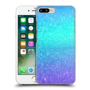 Official Haroulita Glitter Sparkle Turquoise And Purple Hard Back Case For Apple Iphone 7 Plus