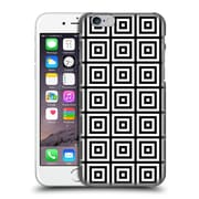 Official Haroulita Monochrome 3D Squares Hard Back Case For Apple Iphone 6 / 6S
