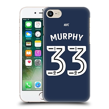 Official Newcastle United Fc Nufc 2016/17 Players Away Kit 2 Murphy Hard Back Case For Apple Iphone 7