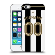 Custom Customised Personalised Newcastle United Fc Nufc 2016/17 Personalised Jersey Soft Gel Case For Apple Iphone 5 / 5S / Se